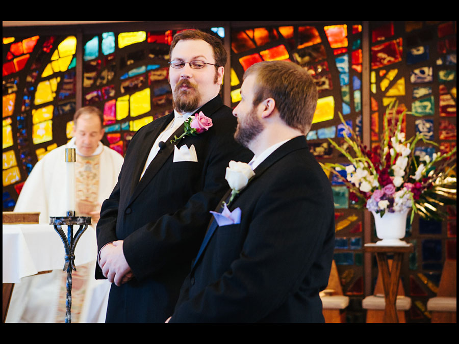 St Pius X Wedding