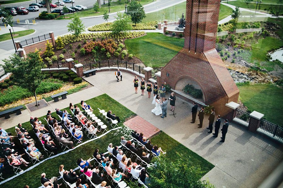 WVU Wedding Ceremony