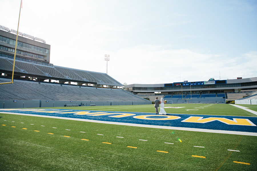 Milan Puskar Stadium Wedding