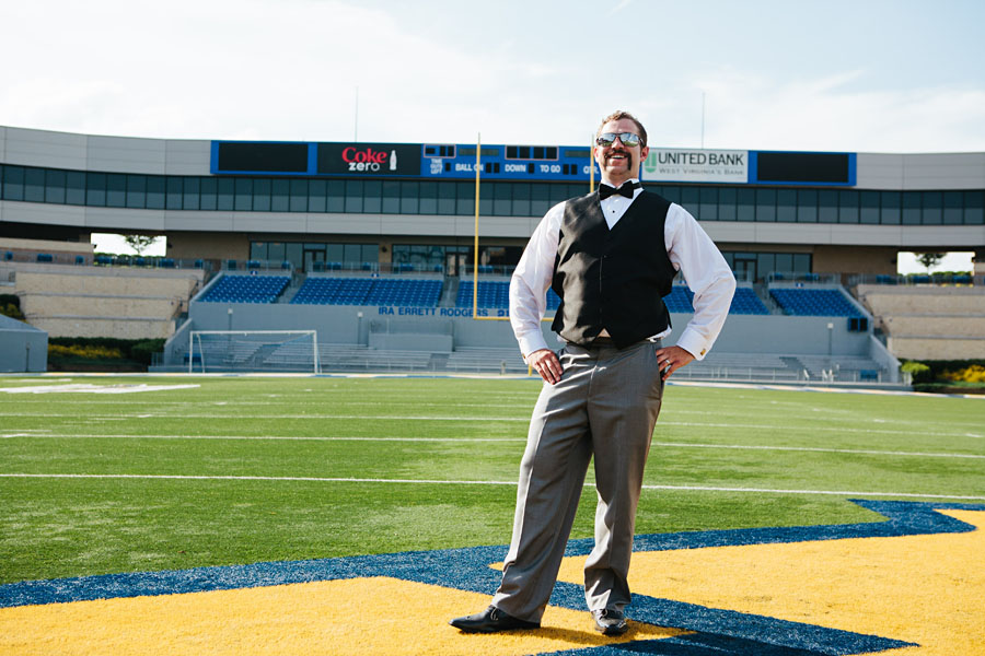 WVU Wedding Portraits