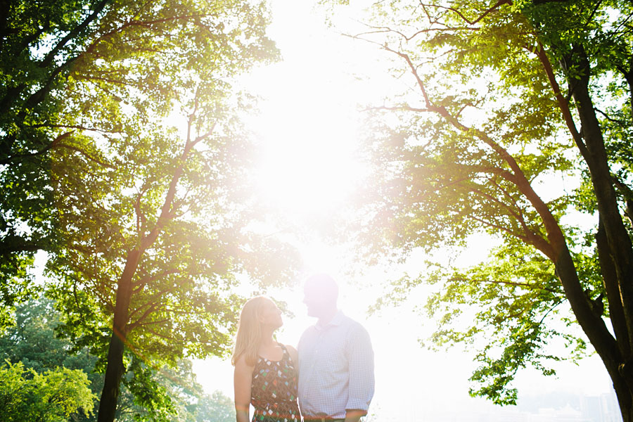 Schenley Park Engagement Photography