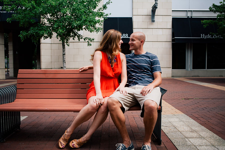 Modern Engagement Portraits Pittsburgh