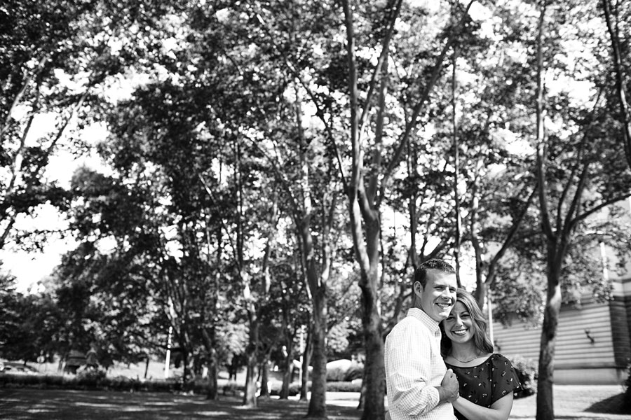 Carnegie library engagement photos
