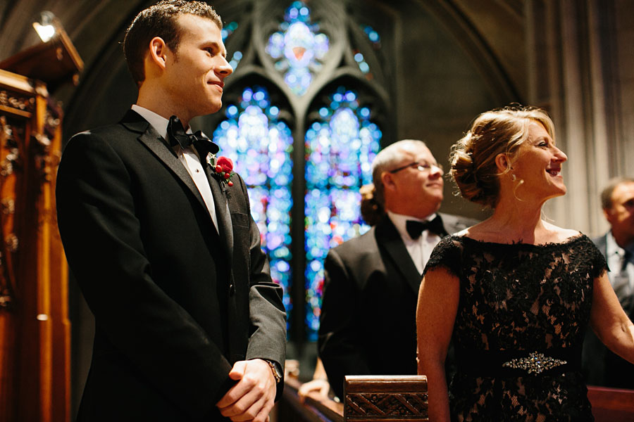 Pitt Heinz Chapel Wedding Ceremony