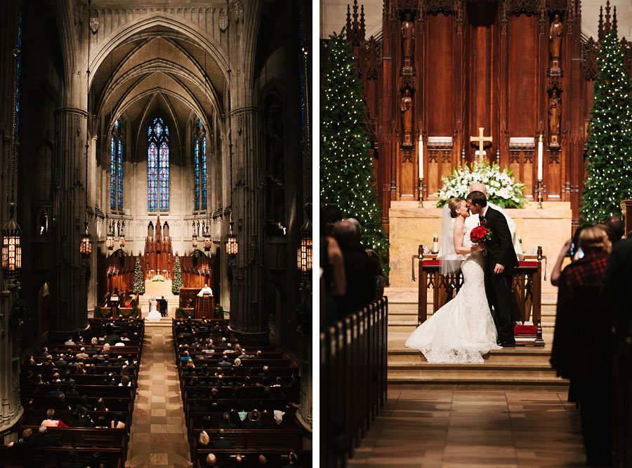 Heinz Chapel Wedding Ceremony Pittsburgh