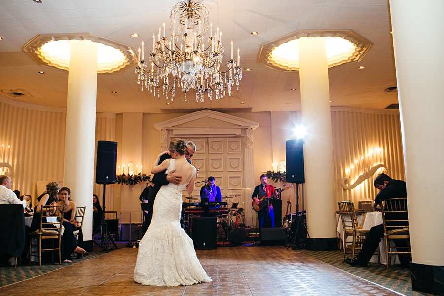 Father Daughter Dance at Pitttsburgh Athletic Association wedding