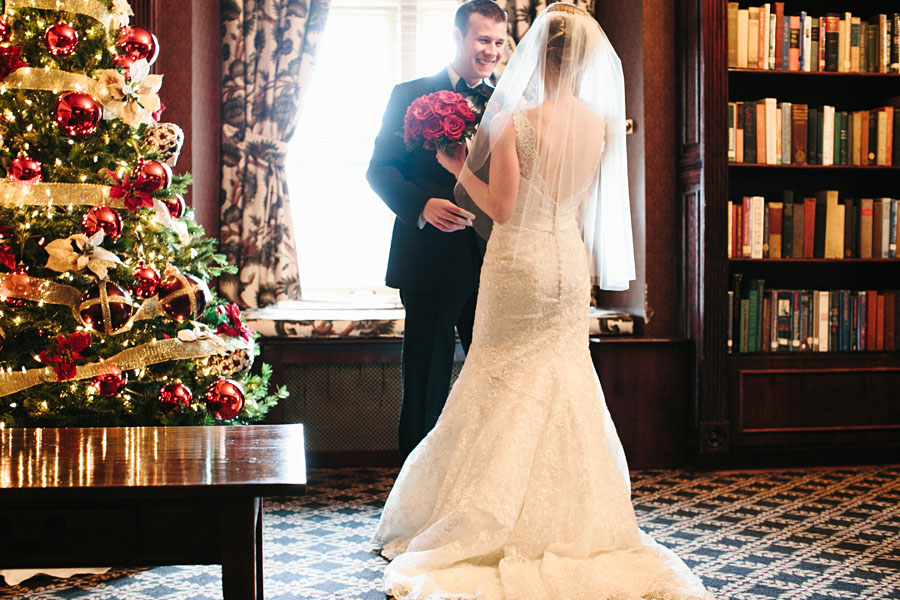 First Look Pittsburgh Athletic Association Wedding