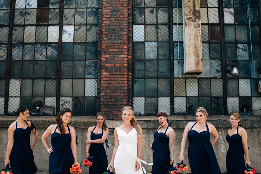 Pittsburgh Wedding photographers Strip District portraits