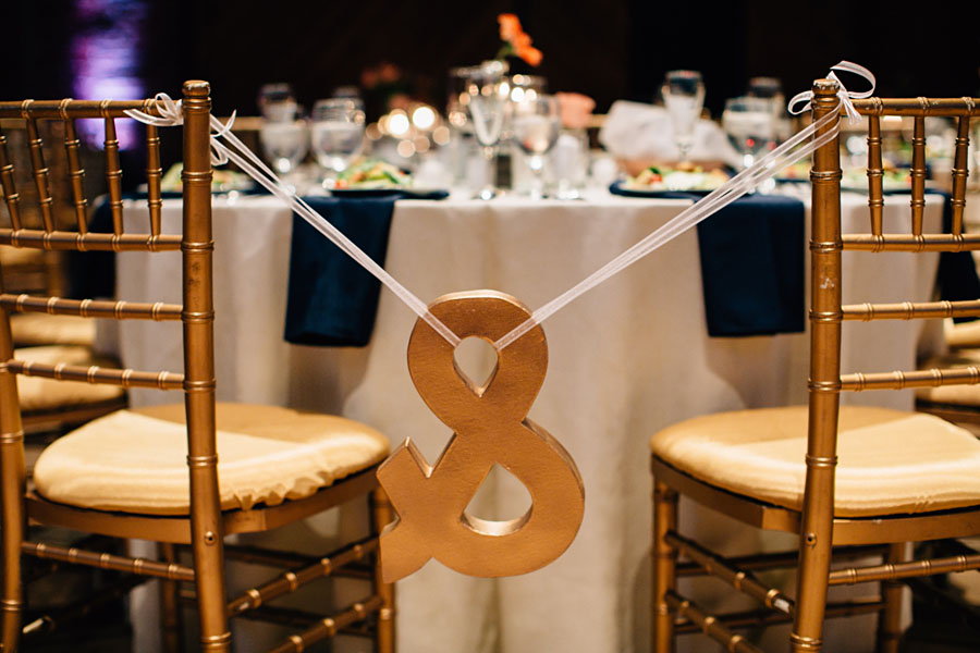 Pittsburgh Opera House wedding reception