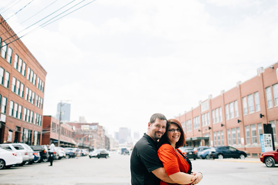 Smallman Street Pittsburgh engagement photos